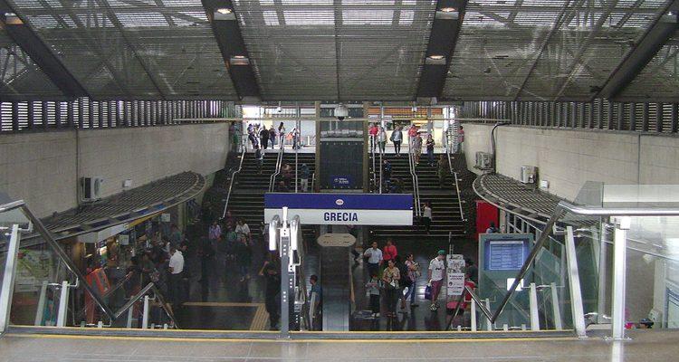 Ένας… ελληνικός σταθμός μετρό στο Σαντιάγκο της Χιλής
