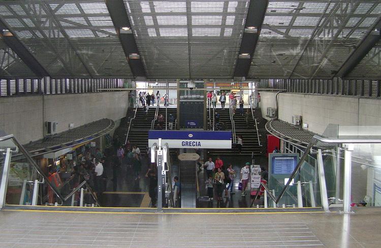 perierga.gr - Σταθμός Μετρό στη Χιλή αφιερωμένος στην Ελλάδα!