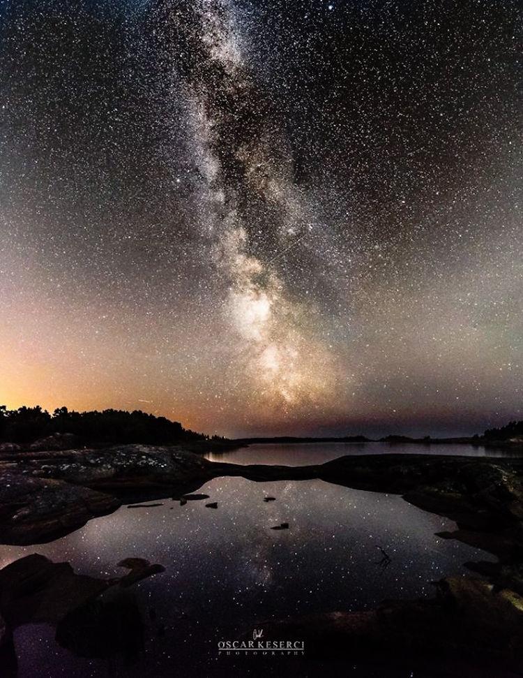 Ο έναστρος ουρανός στο φακό του φωτογράφου!
