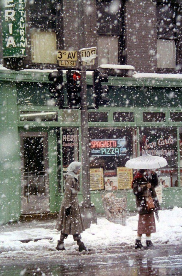 Perierga.gr-Παλιές φωτογραφίες από την χιονισμένη Νέα Υόρκη