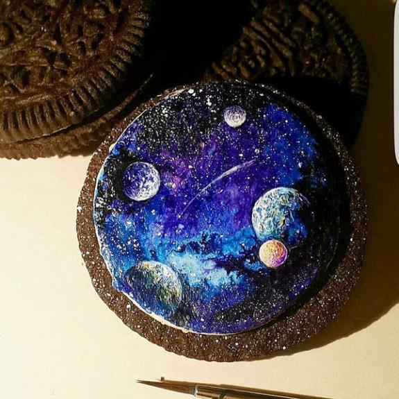Ζωγραφική πάνω σε μπισκότα!