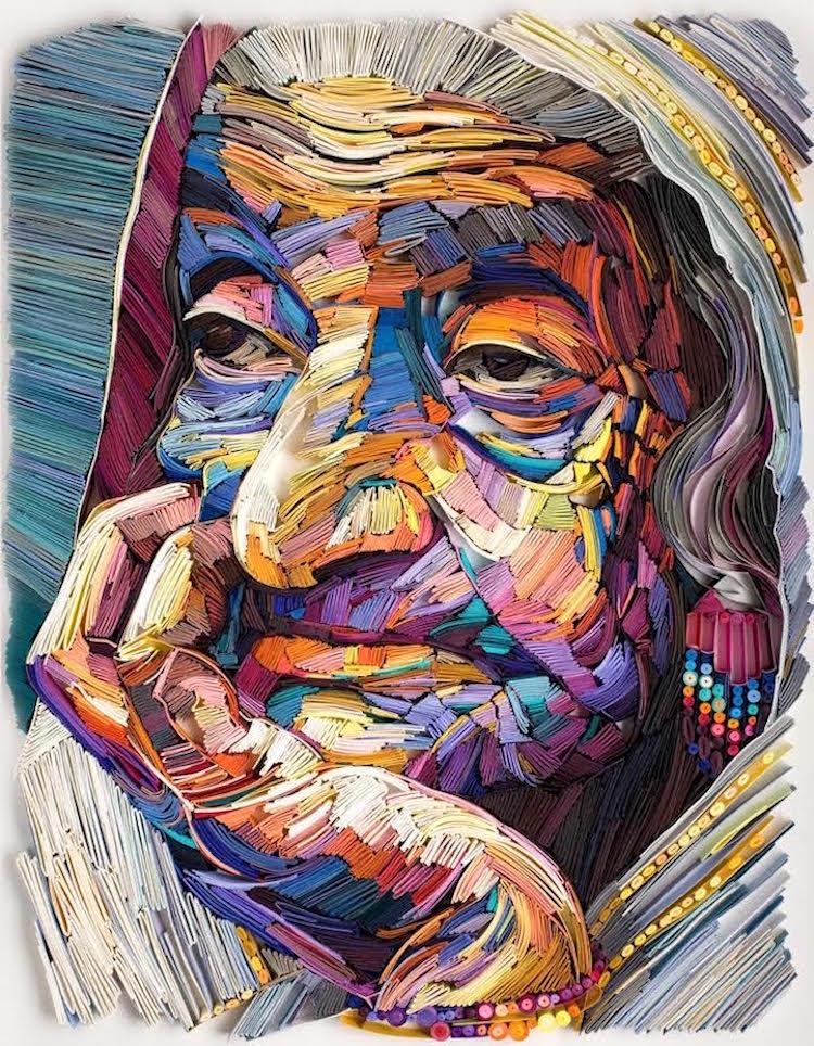 perierga.gr - Καλλιτέχνες μεταμορφώνουν το χαρτί σε έργα τέχνης!