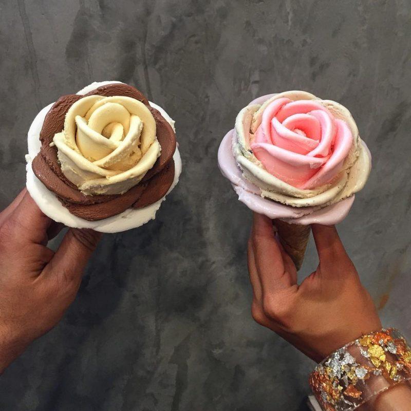 perierga.gr - Απίθανο παγωτό χωνάκι σε σχήμα λουλουδιού!