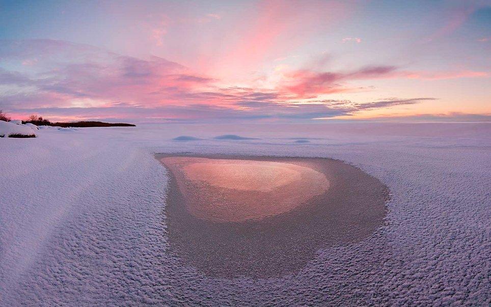 Λίμνη Chudskoy, Αρκτική