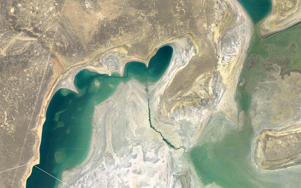 Λίμνη Αράλη, Kαζακστάν