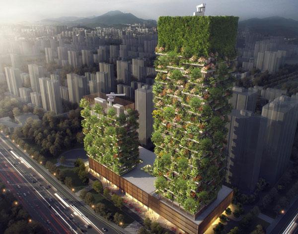 perierga.gr - Ο πρώτος κάθετος κήπος στην Κίνα!