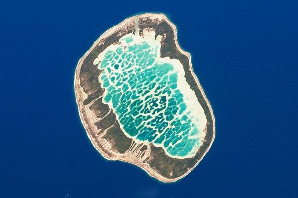 Τιρκουάζ λιμνοθάλασσα μοιάζει με… ψηφιδωτό!