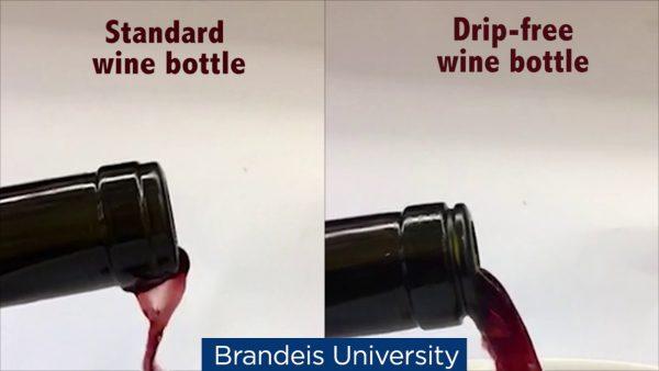 perierga.gr - Μπουκάλι κρασιού που δεν στάζει!