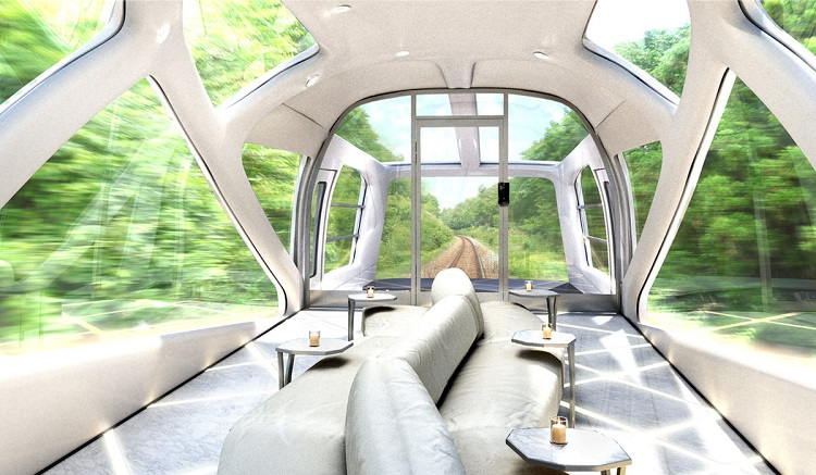 perierga.gr - Πολυτελές ιαπωνικό κρουαζιερό-τρενο που σχεδιάστηκε από την Ferrari