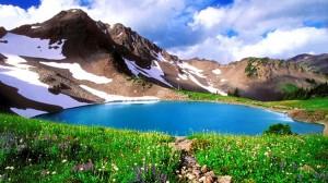 perierga.gr - Dudipatsar: Γαλάζια λίμνη στο Πακιστάν!
