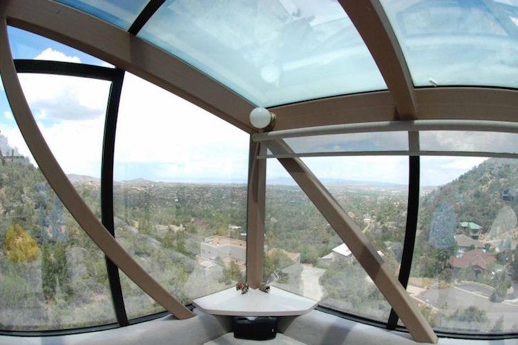perierga.gr - Το ψηλότερο σπίτι στη Βόρεια Αμερική με θέα 360 μοιρών!