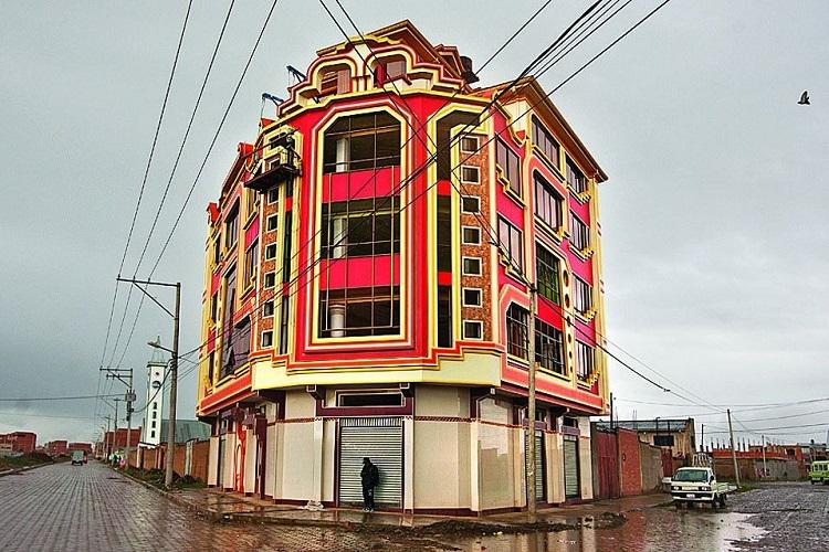 perierga.gr - Τα πολύχρωμα κτήρια του El Alto
