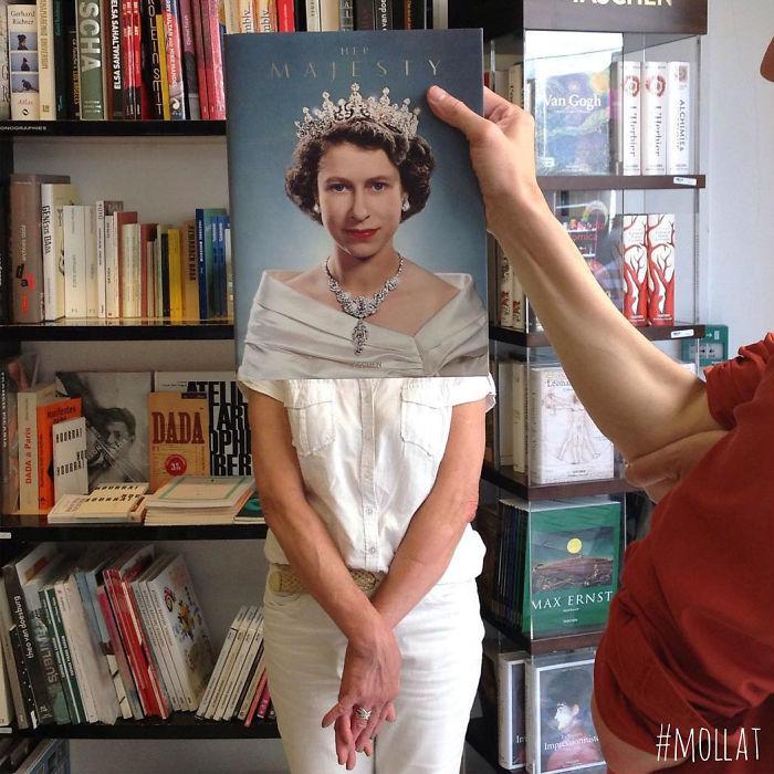 perierga.gr - Τι κάνουν οι υπάλληλοι των βιβλιοπωλείων όταν βαριούνται;