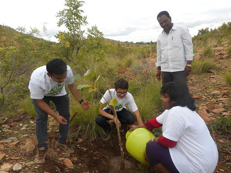perierga.gr - Έφηβος φυτεύει 150 δέντρα για κάθε άτομο στη Γη!