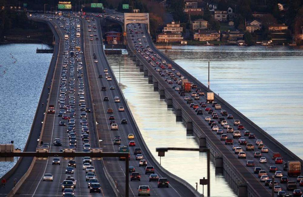 perierga.gr - Οι πλωτές γέφυρες του Σιάτλ