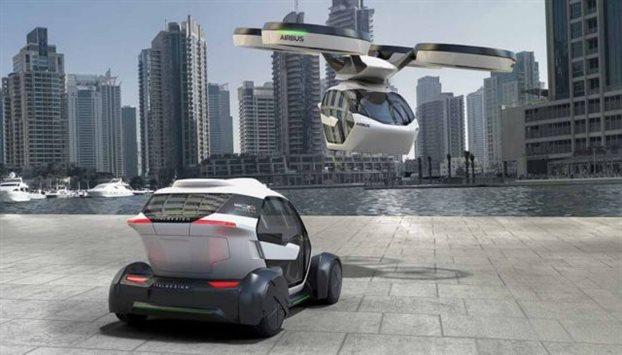 perierga.gr - Pop.Up: το αυτοκίνητο που θα γίνεται drone!