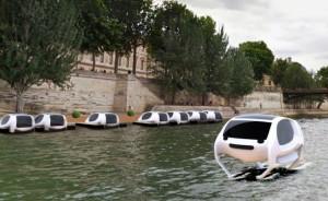 """perierga.gr - """"Ιπτάμενα"""" θαλάσσια ταξί το καλοκαίρι στον Σηκουάνα!"""