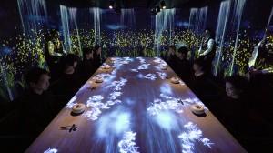 Ψηφιακή εγκατάσταση μετατρέπει εστιατόριο σε διαδραστική εμπειρία!