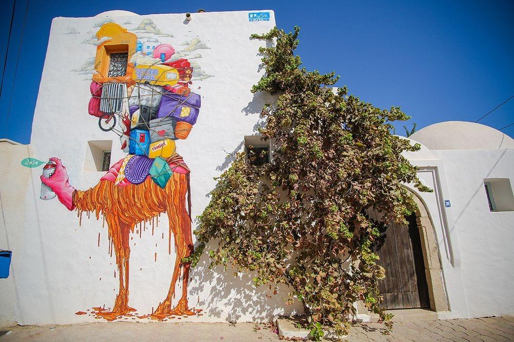 "perierga.gr - Τα γκράφιτι μεταμόρφωσαν ένα ""ξεχασμένο"" χωριό σε τουριστικό αξιοθέατο!"