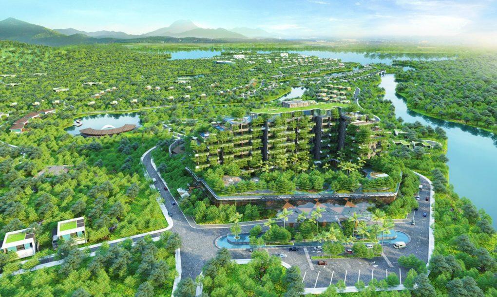 perierga.gr - Καταπράσινο κτήριο με 55.000 δέντρα!