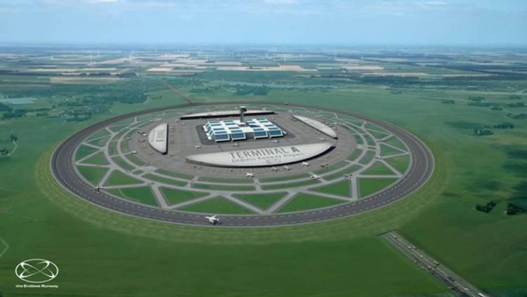 perierga.gr - Προετοιμάζονται τα κυκλικά αεροδρόμια!