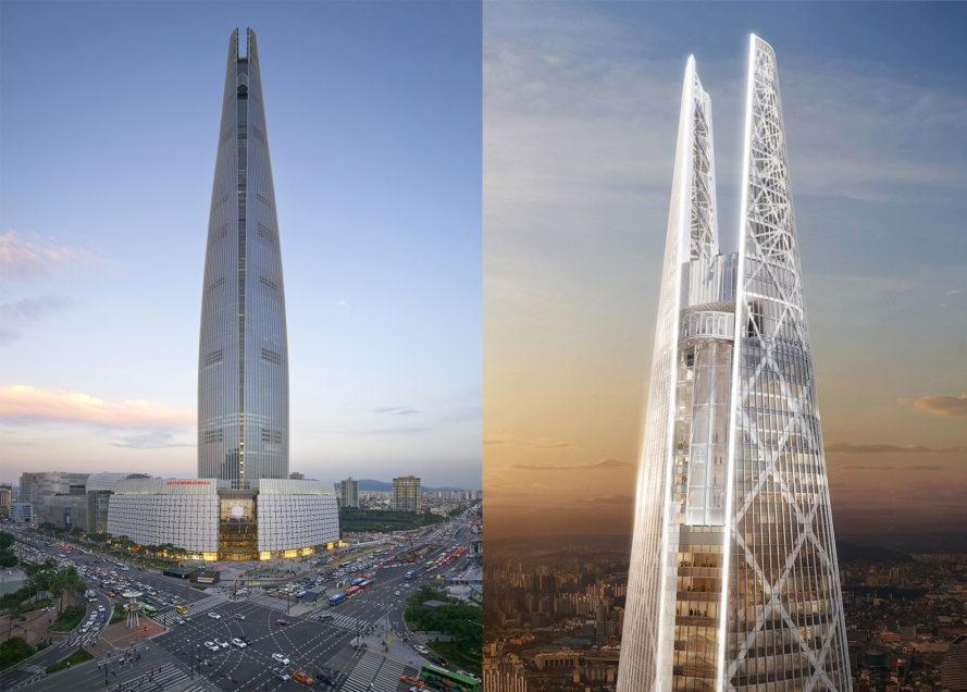 """perierga.gr - Εντυπωσιακός ουρανοξύστης """"αποκαλύπτεται"""" στην Σεούλ!"""