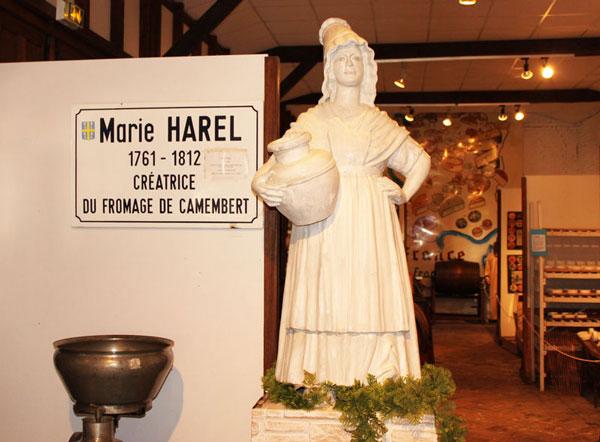 Marie Harel: Η δημιουργός του τυριού καμαμπέρ