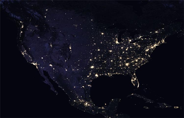 perierga.gr - Εντυπωσιακές εικόνες του πλανήτη το βράδυ από τη NASA!
