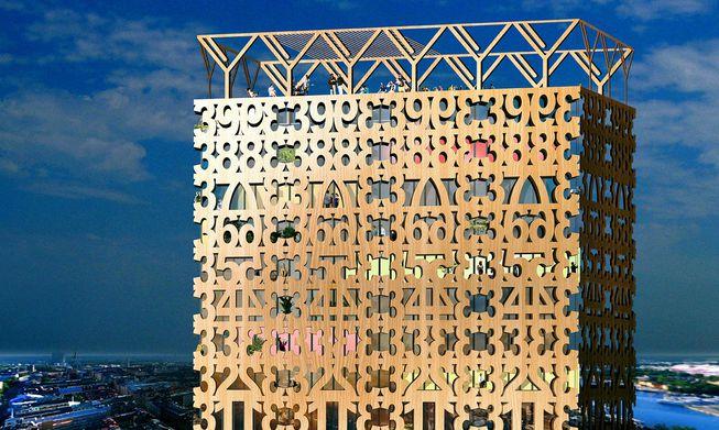 Perierga.gr - Εντυπωσιακά ξύλινα κτήρια στον κόσμο!