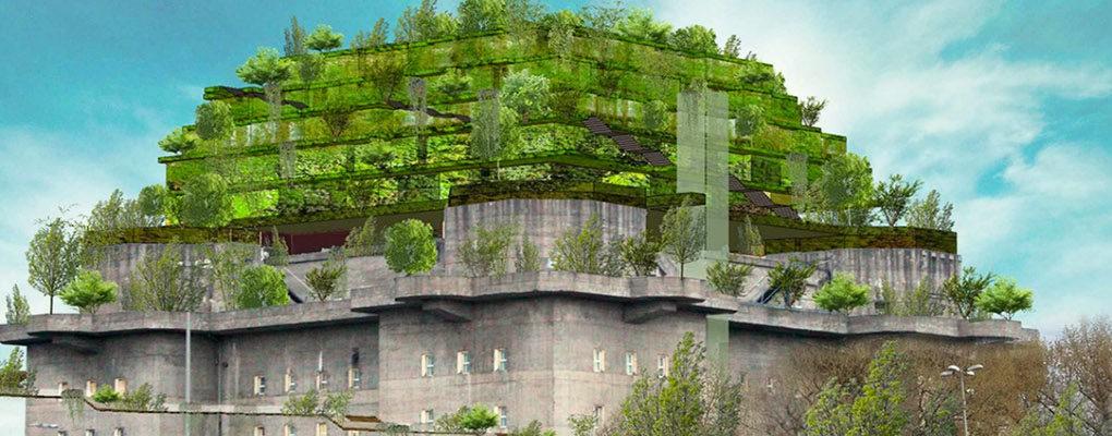 """perierga.gr - Αποθήκη του Β΄ Παγκοσμίου Πολέμου μεταμορφώνεται σε """"πράσινο βουνό""""!"""
