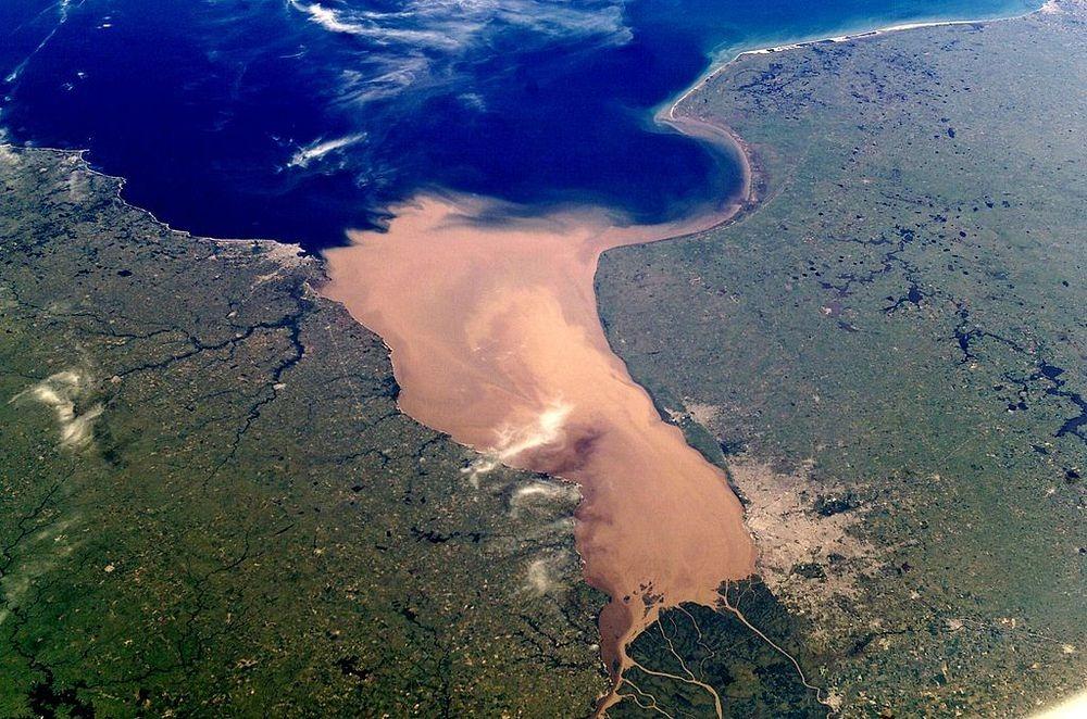 perierga.gr - Río de la Plata: Ο πιο πλατύς ποταμός στον κόσμο!