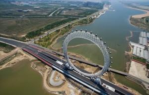 Μια γιγάντια ρόδα στην Κίνα!