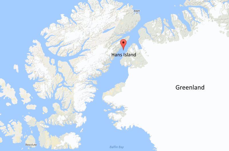 "perierga.gr - Ο απίθανος ""πόλεμος του ουίσκι"" στο νησί Hans!"