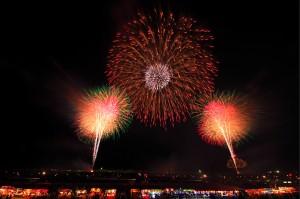 Εντυπωσιακό φεστιβάλ πυροτεχνημάτων στην Ιαπωνία!