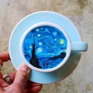 Το latte art σε άλλη διάσταση!