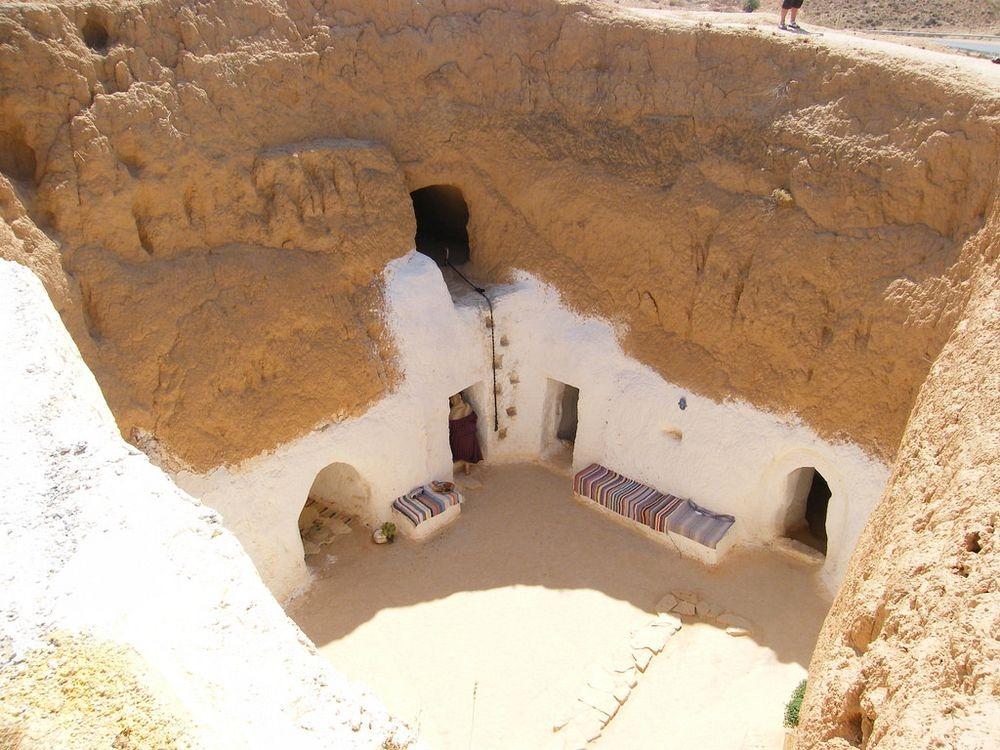 perierga.gr - Τα υπόγεια σπίτια της Τυνησίας!