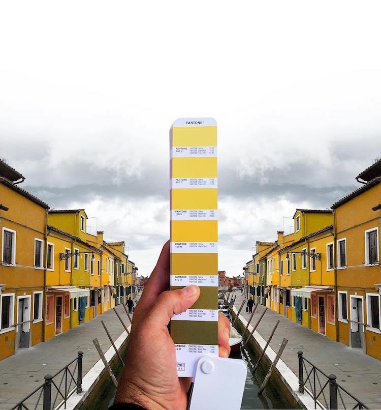 perierga.gr - Δείγματα χρωμάτων Pantone συνδυάζονται με τοπία!