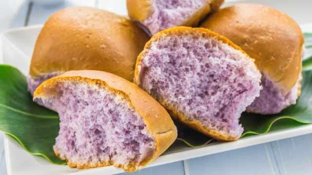 perierga.gr - Μοβ... ψωμί στο τραπέζι μας!