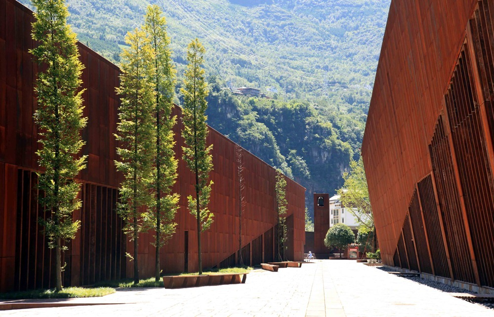 perierga.gr - Wenchuan: Μουσείο εις ανάμνηση ενός μεγάλου σεισμού!