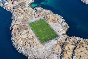 Γήπεδο ποδοσφαίρου σε μαγευτική τοποθεσία!