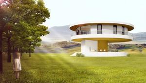 Σπίτι ακολουθεί τον ήλιο και περιστρέφεται 360 μοίρες!