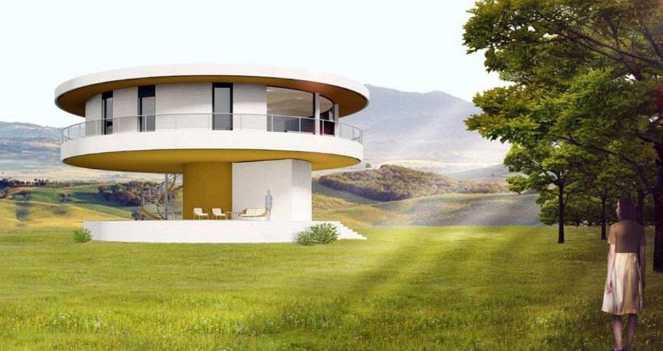 perierga.gr - Σπίτι ακολουθεί τον ήλιο και περιστρέφεται 360 μοίρες!