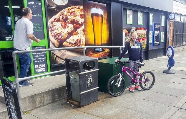 perierga.gr - Κλέφτης ποδηλάτων για καλό σκοπό!