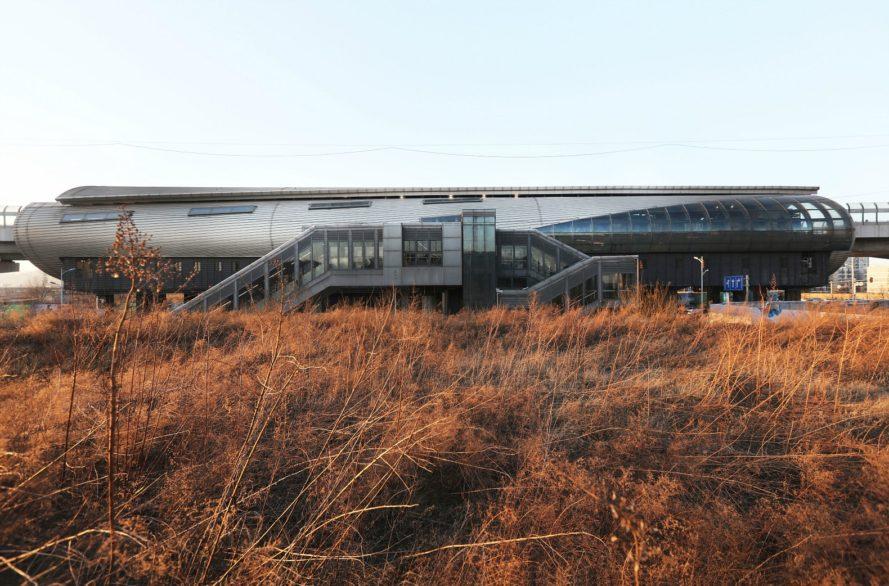 perierga.gr - Οι νέοι σταθμοί Μετρό στο Πεκίνο έχουν βγει από ταινία επιστημονικής φαντασίας!