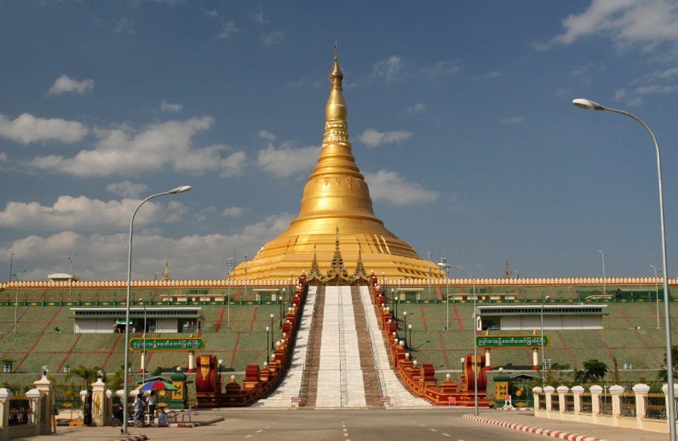 perierga.gr - Naypyidaw: Η άδεια πρωτεύουσα της Μιανμάρ!