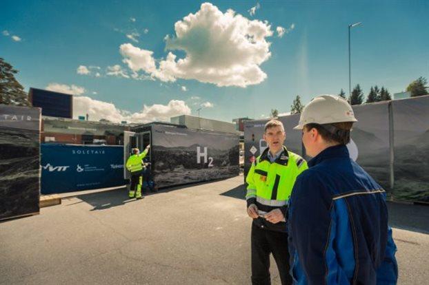 perierga.gr - Mονάδα στη Φινλανδία παράγει καύσιμα από αέρα!