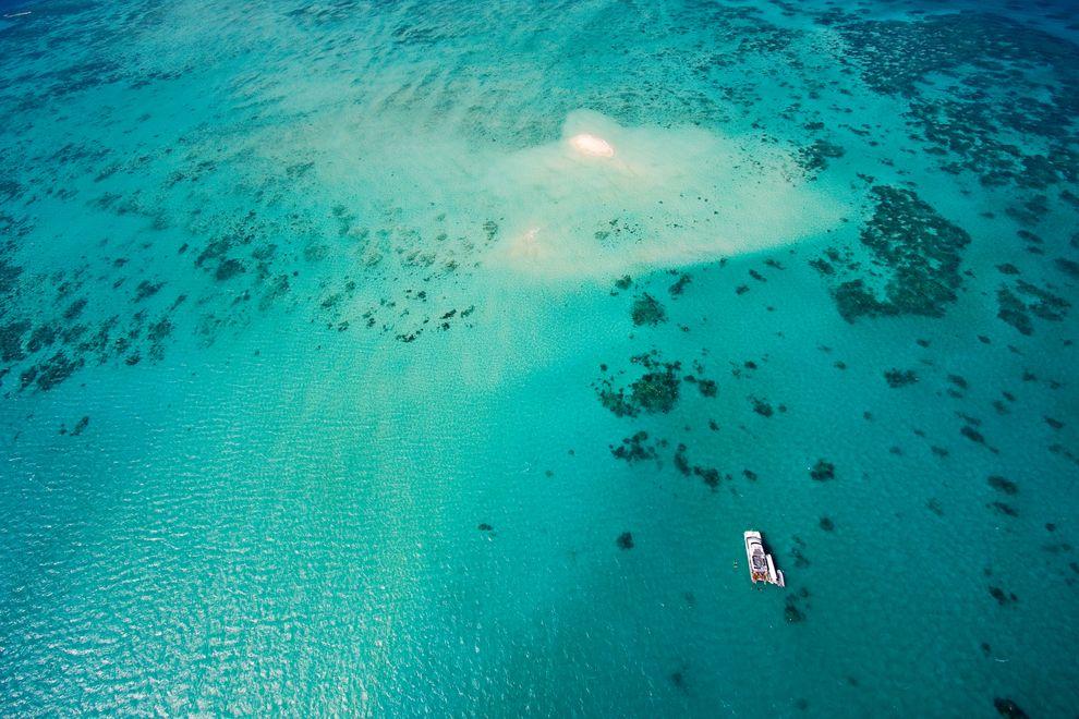 perierga.gr - Ο Μεγάλος Κοραλλιογενής Ύφαλος όπως φαίνεται από ψηλά!