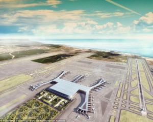 Στην Τουρκία κατασκευάζεται το μεγαλύτερο αεροδρόμιο του κόσμου!