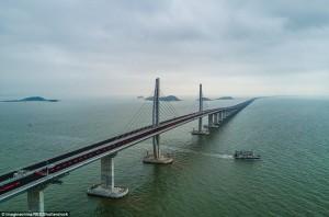 Έτοιμη η μεγαλύτερη θαλάσσια γέφυρα στον κόσμο!