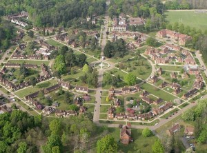 """Τα """"εταιρικά"""" χωριά της Βρετανίας του 19ου αιώνα!"""